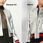 Gucci и Forever 21 спорят за разноцветные полоски
